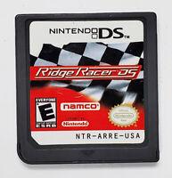 Ridge Racer DS (Nintendo DS, 2004) Cartridge Only Arcade Racing Namco E-Everyone