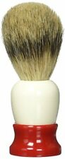 Fine Accoutrements 20 mm Super Badger Shave Brush, Red & White