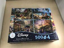 Disney Classic puzzle set 500 pieces × 4 Ceaco Disney Collection Puzzle