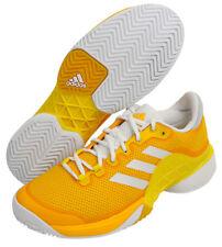 buy popular 5383e 9f561 adidas Barricade Men s Tennis Shoes Footwear Yellow Racquet Racket NWT  BY1623