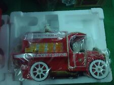 Enesco BUDWEISER EXPRESS Multi Action Musical Delivery Truck & Dalmations E6