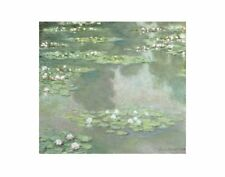 Water Lilies (I), 1905 by Claude Monet Art Print Landscape Poster 11x14