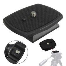 For DSLR SLR Digital Camera Tripod Screw Mount Adapter Quick Release QR Plate