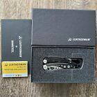 New, Leatherman Skeletool Damasteel. Multitool with damascus blade, DLC coating