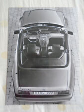 Mercedes 300SL 300SL-24 500SL Interior press photo c1990's ref B44 161