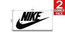 Nike 3 24 X 48 Inch Vinyl Banner 2 Pack