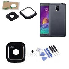 Black Camera Lens Cover Frame Replacement Part For Samsung Galaxy Note 4  TOOL