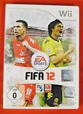 Wii , Fifa 12 , 2011 , ohne Spielanleitung