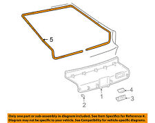 TOYOTA OEM 00-05 Celica Liftgate Tailgate Hatch-Trim Molding 6479520011C0