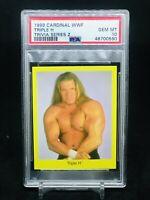 1999 Cardinal WWF Wrestling Trivia Series 2 Triple H PSA 10 GEM MINT WCW WWE NXT