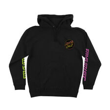 Santa Cruz Skateboards Pullover Hoody Contra Dot Black