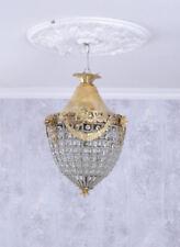 Hängelampe Barock Deckenlüster Leuchte Deckenleuchte Shabby Deckenlampe Lüster