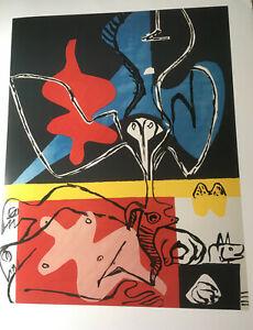 Le Corbusier, Poem de l ´angle droit, 1955, 88x69 cm, Kunstdruck