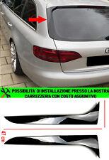 AUDI A4 B8 AVANT COPPIA DEFLETTORI LATERALI LUNOTTO POSTERIORE SLINE - ABS