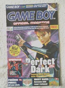 47770 Game Boy Official Magazine - Perfect Dark Magazine