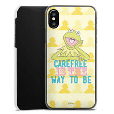 Apple iPhone X Handyhülle Case Hülle - Muppets Carefree is the way to be