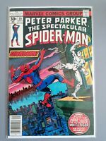 PETER PARKER - THE SPECTACULAR SPIDER-MAN  #10 1977 - Marvel Comic WHITE TIGER