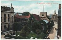 LINCOLN - St Benedict's Church - JV 49242 - Lincolnshire - c1900s era postcard