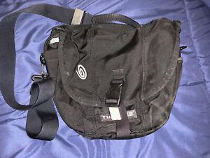 Timbuk2 Classic Messenger Bag Extra Small XS Black Nylon Crossbody