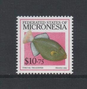 "MICRONESIA 1998 FISH $10.75 ""PINKTAIL TRIGGERFISH"" (SG658) *VF MNH*"