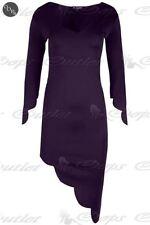 Robes bords asymétriques pour femme, taille XL