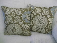 """SHIMA BY ANNA FRENCH 1 PAIR OF 18"""" CUSHION COVERS - DOUBLE SIDED & PIPED"""