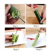 Potato Twister Tornado Slicer Manual Cutter Spiral Chips Kitchen Cook Knife Tool