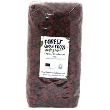 Forest Whole Foods - Organic Dried Cranberries (Free UK Delivery) 2kg