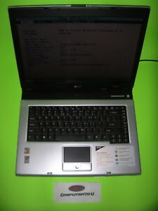 ACER ASPIRE 5000 AMD TURION 1.8GHz SINGLE CORE NO RAM NO HD LAPTOP