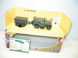 Solido, Jeep US Sanitary Ambulance + Box And Decals Transfers