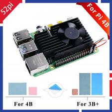 52Pi Extreme Cooling Fan Heatsink Cooling Kit For Raspberry Pi 4 Model B / 3B+