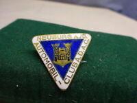altes emailliertes Mitgliedsabzeichen Automobil-Club A.D.A.C. Neuburg a./D. (56)