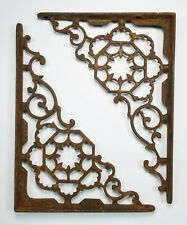 Antique Cast Iron Brackets Shelf Decorative Ornate