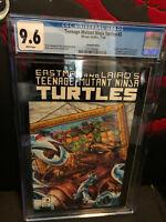 Teenage Mutants Ninja Turtles #3 SECOND PRINT 2nd CGC 9.6 NM+ WP Mirage