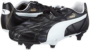 PUMA CLASSICO JNR JUNIOR SG  screw in 103352 black white  UK 1-5 Football Boots