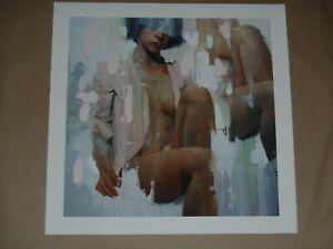 Veil A Alpay Efe HAND EMBELLISHED Art Print poster 1XRUN COA