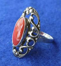 Ring Silber 835 mit Korallen