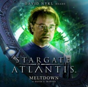 STARGATE ATLANTIS Big Finish Audio CD #2.6 - MELTDOWN
