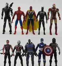 10 pcs / set Avengers Iron Man Batman Winter Soldier Captain action figures Toy