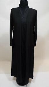 Girls black abaya log dress size 48 nice quality
