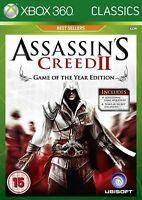 Assassins Creed II: Game of The Year - Classics Edition (Xbox 360) NEW SEALED