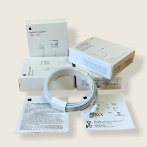 2 Meter Genuine Apple iPhone & iPad Charger - 2M Cable - New & Sealed