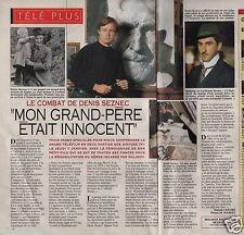 Coupure de presse Clipping 1993 L affaire Seznec   (1 page 1/2)