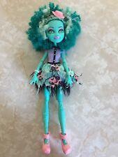 "Monster High 11"" Doll HONEY SWAMP HONEYSWAMP FRIGHTS CAMERA ACTION HAUNTLEYWOOD"