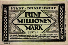 Germany 5.000.000 Mark 1923 Dusseldorf 335742