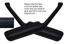 Blue stitch 2x poignée de porte accoudoir peau couvre fits PONTIAC FIREBIRD 90-92
