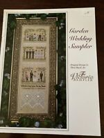 The Victoria Sampler Cross Stitch Chart;Garden  Wedding Sampler
