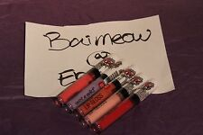 Wet N Wild ColorIcon Lip Gloss LE Pop Art Collection Choose Your Shade limited