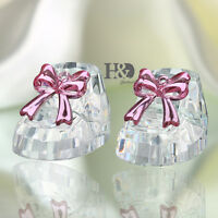Clear 3D Crystal Paperweights Slipper Figurines Glass Wedding Baby Birthday Gift