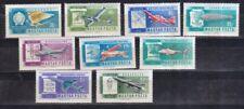 Ungarn 1962 postfrisch MiNr. 1846-1854  Kunstflugmeisterschaften